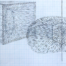 BEAM DOTS READ CODES, 2004 (drawings)