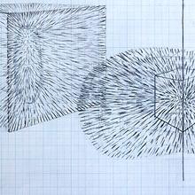 BEAM DOTS READ CODES, 2004 (drawings)